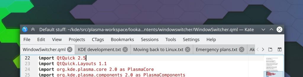 KDE termina junho com muitas correções de bugs e suporte a Btrfs Copy-On-Write