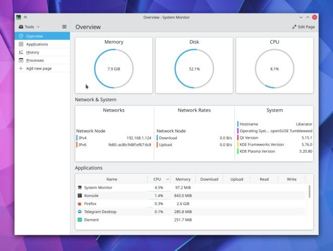 KDE começa novembro com mais correções e melhorias no Plasma Wayland